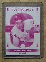 08-09 GTC Top Prospect Rookie RC Printing Proof Magenta NIKITA FILATOV /25