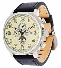 Ingersoll Bison No.52 IN1505CR Automatic Watch Leather Analog -