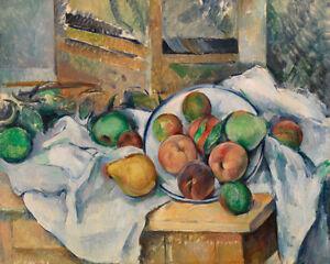 A Table Corner by Paul Cézanne 60cm x 48cm Art Paper Print