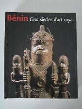 LIVRE BENIN CINQ SIECLES D'ART ROYAL SNOECK/BRONZE/STATUETTE AFRICAINE/AFRIQUE