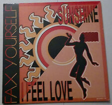 Fax Yourself - I Feel Love   12 inch single