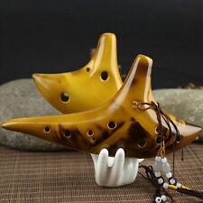 12 Hole Legend Zelda Ocarina of Time Alto C Smoldering Ceramic Flute Ocarina Hot