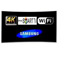 "Samsung UE49KU6500 49"" Smart Curved LED TV WiFi 4K UHD Unit Only With Power Lead"