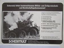 3/1977 PUB SCHERMULY SIMFIRE SOLARTRON ALVIS SALADIN ARTIFICES ORDRE GERMAN AD