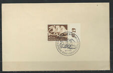 "Allemagne FDC 27/07/1942 du N° 739 ""9eme ruban brun"" - Munich"