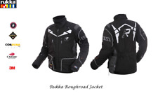 RUKKA - ROUGHROAD - ALL SEASONS MOTORCYCLE JACKET - BLACK/TITANIUM - SIZE EU 54