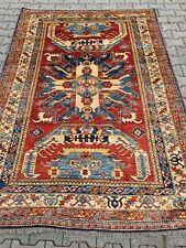 Wunderschöner Kasak - Teppich / Pakistan 242 x 167 cm TOP