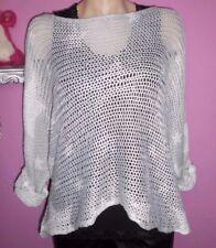 Damen-Pullover aus Baumwollmischung mit Sterne