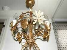 Antique Gold Color Plated Ceiling Lamp.