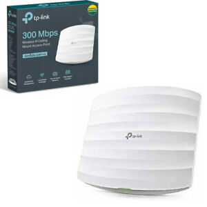 TP-Link N300 Wireless Wall Mount Access Point Support Passive PoE&Direct Current