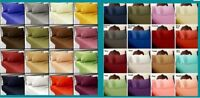 Luxury 4 PCs Water Bed Sheet Set 1000tc Egyptian Cotton Multi Colors All Size