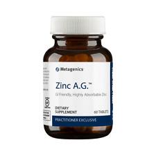 Metagenics - Zinc A.G. - 60 Tablets FREE SHIPPING