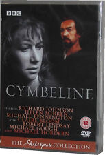 Cymbeline The BBC Shakespeare Collection DVD New Sealed