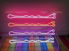 "Bobby Pin Hair Salon Open Neon Sign Light Lamp 19""x12"" Decor Artwork Windows"