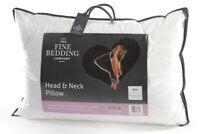 The Fine Bedding Company Head & Neck Adjustable Support Pillow Non-Allergenic