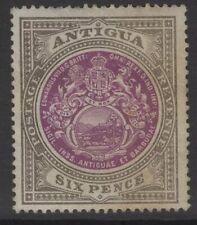 ANTIGUA SG36 1903 6d PURPLE & DRAB MTD MINT