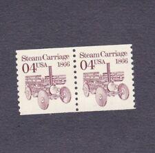 Pair 4c Steam Carriage US 2451, US 2451b Lot (2) MNH F-VF