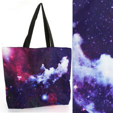 2018 Women Lens Flare Clouds Shoulder Print Galaxy Handbag Laptop Shopping Bag