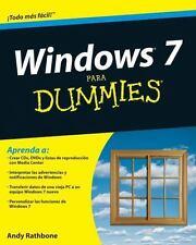 Windows 7 Para Dummies (Para Dummies/for Dummies (Computer/Tech)(Spanish))