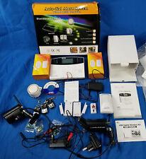 Home Security Wifi System GSM House Burglar Alarm Auto Dial Siren w/ 2 Cameras