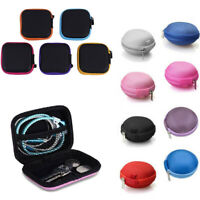 Portable Mini Case Pouch Storage Bag For SD TF Card Earphone Headphone Earbuds