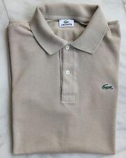 Chemise Lacoste camiseta polo polo size 4 (similar a/like 5) M/L beige beige