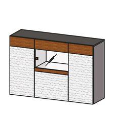 Classic Dresser Designer Chests of Drawers Kommodenschrank Wardrobe Wooden Neu