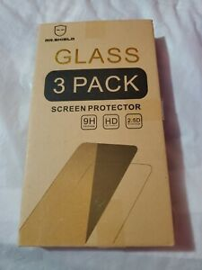 Mr Shield 3 Pack Tempered Glass Screen Protector for Nokia X71