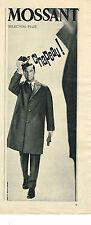PUBLICITE ADVERTISING    1961   MOSANT  impérméable homme