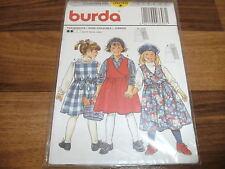 BURDA Schnittmuster 3698            2x  TRÄGERROCK (LANDHAUS)         116-146