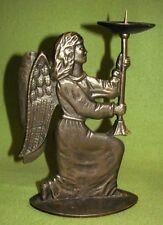 """Bronze """"Engel"""" Kerzenhalter. 1 flam."""