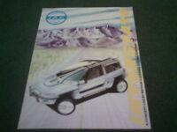 1987 IAD INTERSTATE RV CONCEPT CAR UK COLOUR BROCHURE
