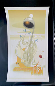 Phish Poster Official Shoreline CA 2003 Numbered Scott Campbell SAC Vintage RARE