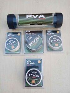 PVA 7m Wide Mesh 3 x Tape 20m & 7m PVA Refill Fast Dissolving Carp Fishing NEW