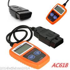 Car Fault Code Reader Engine Scanner AC618 OBD2 EOBD Data Tester Diagnostic Tool