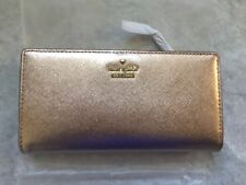 NWT Kate Spade Cameron Street Stacy Wallet in Rose Gold $110
