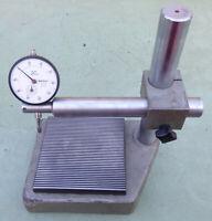 Feinmesstisch 125 Messstativ Messtisch Messuhrhalter Meßständer Mitutoyo Messuhr