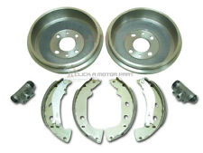 FIAT MULTIPLA REAR 2 BRAKE DRUMS & SHOES SET & 2 WHEEL CYLINDERS NEW PACKAGE