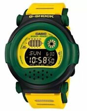 New Casio G001RF-9D G-Shock Digital Limited Edition Green/Yellow Men's Watch
