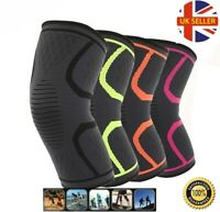 Knee Support Brace Compression Sleeve Arthritis Running Gym Sports Protector UK