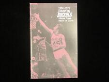 1974-75 Houston Rockets Basketball Media Guide