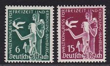 3rd Reich Nazi Germany WW2 MNH** Stamps 1936 Congress 4 Spare Time&Recreation