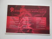 DELCOURT 9 COUVERTURES MYTHIQUES EX LIBRIS TTBE 8 EX LIBRIS PRESENT