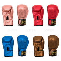 Viper Boxing Gloves Professional Leather Sparring Boxing Punch Bag Gloves MMA