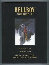 Hellboy Volume 5  432 Page Hardcover  NM+ 9.6  $49.99-c  Dark Horse  2012