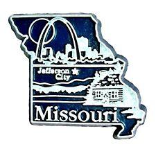Missouri Jefferson City Fridge Magnet