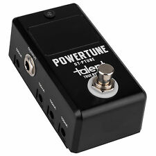 Talent GT-PTUNE POWERTUNE Tuner and Power Supply Guitar Mini FX Pedal Stomp Box
