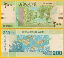 Sudan 200 Pounds p-new 2019 UNC Banknote
