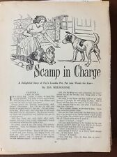 K1h Ephemera 1950s Short Story Scamp In Charge Ida Melbourne