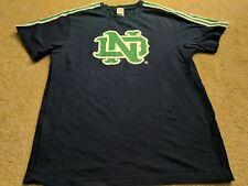 Adidas Notre Dame Men's Size L Blue T Shirt Awesome
